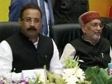 Video : केंद्रीय मंत्री राधामोहन सिंह को नीतीश के मंत्री ने मंच पर सुनाई खरी-खोटी