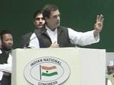 Video : How Much Black Money Came Back Post Notes Ban, Rahul Gandhi Asks PM Modi