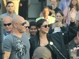 Video : <i>xXx 3</i>: Deepika And Vin Diesel Get Grand Welcome In India