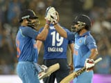 1st ODI: India Seal Stunning Three-Wicket Win Over England
