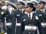 Video : Republic Day 2017: Lt Aparna Nair Leads Navy Contingent Of 144 Young Soldiers