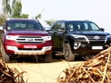 Video: Ford Endeavour vs Toyota Fortuner And Bajaj V12