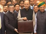 Video : Budget At 11 AM, Tweets Finance Minister Arun Jaitley