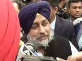 Video : Punjab Elections 2017: Congress Will Lose, AAP A Distant Third, Says Sukhbir Badal