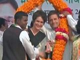 Video: यूपी का महाभारत : राहुल गांधी के साथ प्रचार में उतरीं प्रियंका गांधी