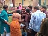 Video : In Row Over Traffic Fine, Lawmaker's Husband Slaps Police Officer