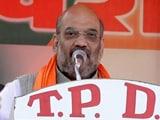 Video: यूपी का महाभारत : अमित शाह ने कांग्रेस-सपा और बसपा को बताया 'कसाब'