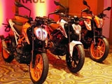 2017 KTM 200, 250, And 390 Duke First Look