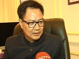 Video : Now, Kiren Rijiju Refers To Gurmehar Kaur's Father: 'Martyr's Soul Weeping'