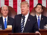 Video : Donald Trump Denounces Killing Of Indian Engineer In State Of Union Address