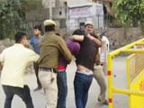 Video : 2 Alleged ABVP Men Arrested As Students March Against 'Gundaism'