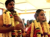 Sneha & Aswath Tie The Knot In A Traditional Tamil Wedding