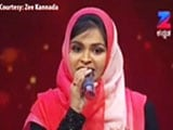 Video : Muslim Woman Trolled For Singing Hindu Hymn On Reality Show