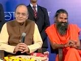 Video : नोटबंदी का आइडिया बाबा रामदेव से मिला : वित्त मंत्री अरुण जेटली