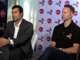 Video: Luis Figo, Ryan Giggs Gung-Ho About Premier Futsal