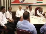 Video : Heated Scenes At Goa Meet As Digvijaya Singh Is Accused Of 'Mismanagement'