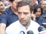 Videos : बीजेपी से हमारी सैद्धांतिक लड़ाई : राहुल गांधी
