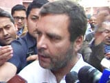 Video : In Ups And Downs, UP Is 'A Little Down': Rahul Gandhi On Winning 7 Seats