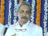 Video: 'Congress Traveling Now By Bus Because...' Manohar Parrikar Mocks Rival