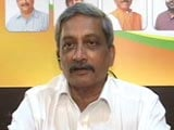 Video: Manohar Parrikar To NDTV: Congress Didn't Have Numbers, We Did