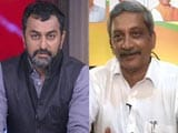 Video: Goa Congress Legislators Want To Join BJP, Says Manohar Parrikar