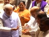 Video : <i>Laddoo</i> In Hand, Amit Shah Sets The BJP a New Target