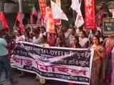 Video : Left Student Activists Allege Sexual Harassment By Kolkata Jail Staff