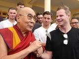 Video : धर्मशाला टेस्ट से पहले दलाई लामा से मिली ऑस्ट्रेलियाई क्रिकेट टीम