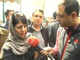 Video: As 3 Die In Police Action In Kashmir, Mehbooba Mufti's Appeal To Parents