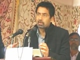 Video : Mehbooba Mufti's Brother Makes Political Debut From Anantnag