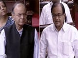 Video: Arun Jaitley vs P Chidambaram In Rajya Sabha Over Aadhaar