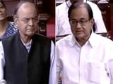 Video : 'Don't Caricature My Question': Chidambaram Vs Arun Jaitley In Aadhaar Row