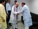 Video : अमित शाह और शंकरसिंह वाघेला ने की चाय पर चर्चा
