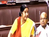 Video : Probe Into Attacks On Africans On, Says Sushma Swaraj