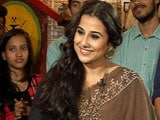 Video : Vidya Balan On Social Media: Instagram Works, Twitter Doesn't
