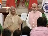 Video : PM Modi, Sheikh Hasina 'Step Down', He Said. Everyone Laughed