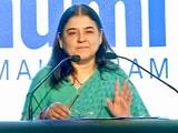 Video : महिलाओं के खिलाफ हिंसा के लिए फ़िल्में ज़िम्मेदार : मेनका गांधी