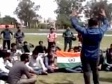 Video : ABVP Allege Disrespect Of National Anthem During Football Match In Jammu