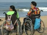 Video : This Beach In Goa Just Became Friendly For People With Disabilities