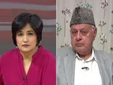 Video: Jammu And Kashmir Government Targeted, Obstructed Our Voters': Farooq Abdullah