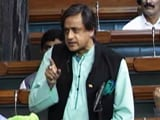 Video : Sushma Swaraj Asks Shashi Tharoor To Draft Response Against Pakistan