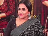 Video : Vidya Balan Says She Hasn't 'Faced Nepotism' In Bollywood