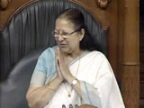 Video : Happy Birthday, Madam Speaker! MPs Serenade Sumitra Mahajan In Parliament