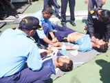 Video : भारतीय नौसेना ने पाकिस्तानी कोस्ट गार्ड के लोगों को बचाया