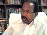 Video : Congress' Veerappa Moily Defends EVMs As Party Takes Opposite Stand