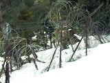 Video : Heavy Snow Takes A Toll On LoC Fence
