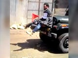 Video : Protester Tied To Army Jeep 'For Defence' In Kashmir Video That Is Viral