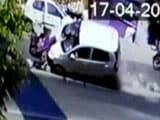 Video : CCTV Shows Pune Car Accident, People Flung In Air, 3-Year-Old Dead