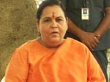 Video : 'Ready To Go To jail For Ram Mandir,' Says Uma Bharti