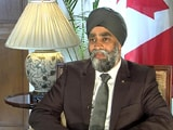 Video: 'It Does Hurt', Says Canadian Defence Minister, Accused Of Links With Khalistan Movement